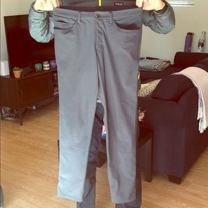 Men's Gray Lululemon ABC Pant